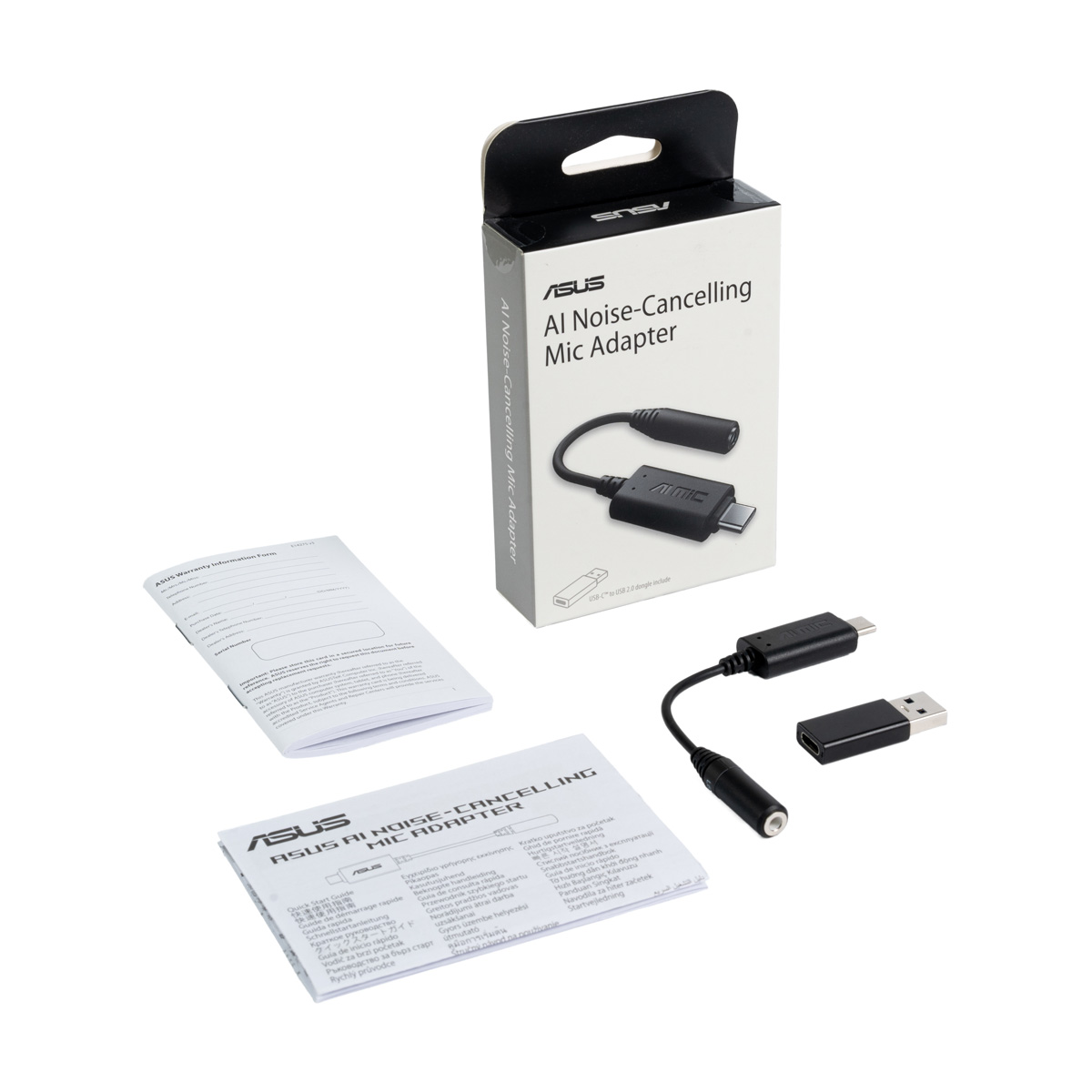 ASUS AI Noise Canceling Mic Adapter