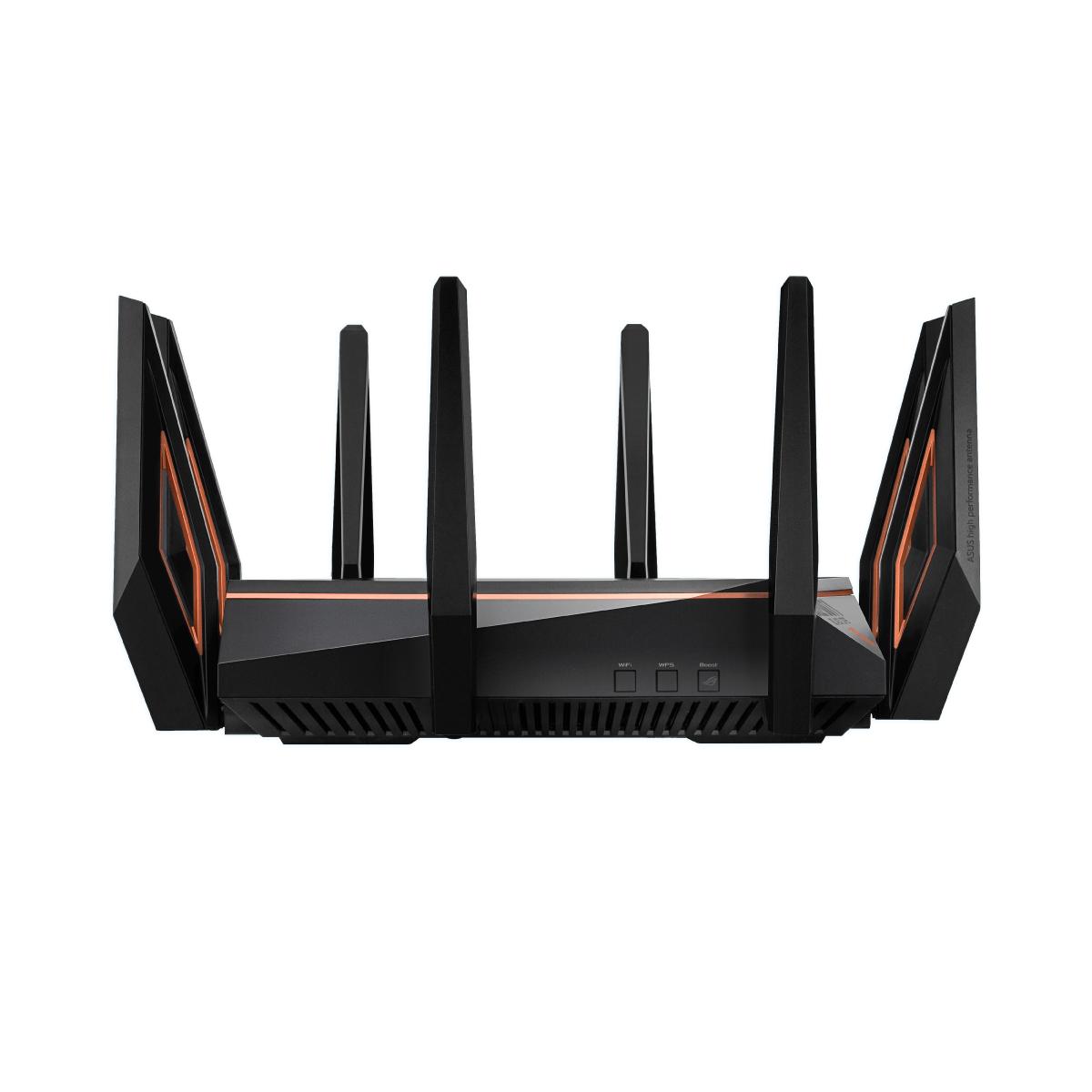 AX11000 三頻 WiFi 6 (802.11ax)  10 Gigabit 電競無線路由器