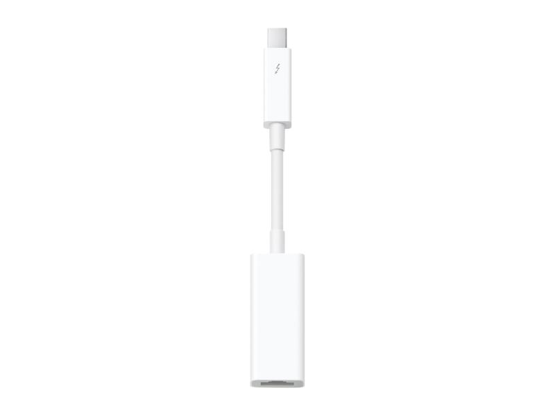 Thunderbolt to Gigabit Ethernet Adapter